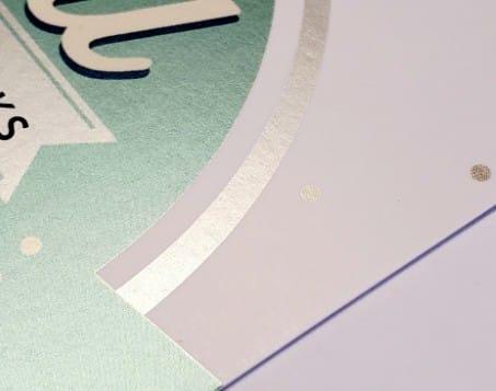 coated paper digital metallic ink indigo